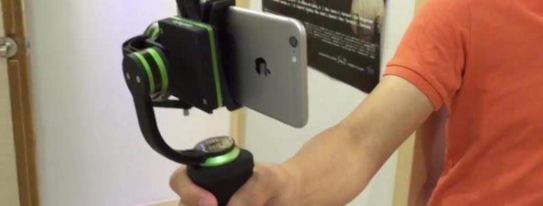 아이폰6+와 함께한 랜파트 lanparte 3축 짐벌 HHG-01 plus